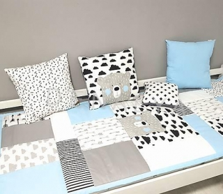 Prehoz 90x200cm LIGHT BLUE